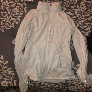 White Lululemon Zip-Up